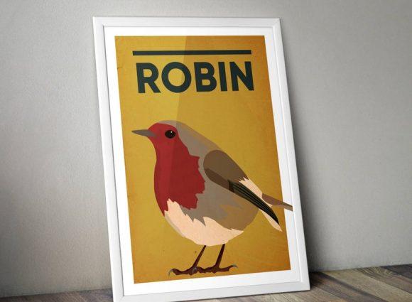 Robin A4 Print Micklegate Design